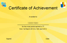 Automatically generated certificates